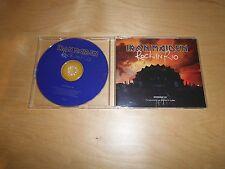 IRON MAIDEN - PROMO CD - ROCK IN RIO