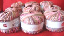 9 SHEEN Double Knit Wool/Yarn Cerisemix 26, 4mm, 50g, LOT 010407, washable
