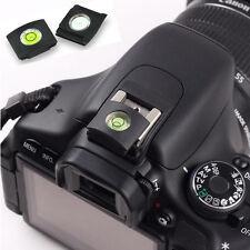 2pcs  Black Bubble Spirit Level Hot shoe cover cap for Canon Nikon Hot Sale