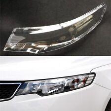 For Kia Cerato/Forte 2009 2010 2011 2012 2013 Car Headlight Headlamp Clear Lens