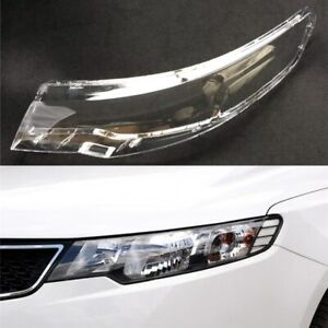 Headlight Cover For Kia Cerato/Forte 2009~2013 Car Headlamp Lens Auto Shell