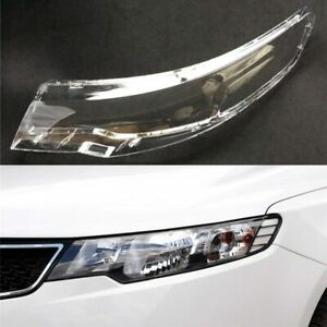 Headlight Cover For Kia Cerato/Forte 2009~2013 Car Headlamp Lens Auto Shell