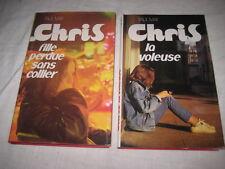 2 Livres de Paul May Chriss La Voleuse et Fille perdue sans collier