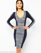 Viscose Cocktail Stretch, Bodycon Dry-clean Only Dresses for Women