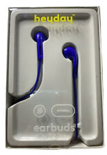 Heyday Bluetooth 5.0 Enabled Wireless Earbuds Royal Blue New
