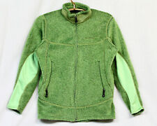 PATAGONIA Womens Regulator Polartec Fleece Jacket Sz Large Apple Green