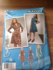 SIMPLICITY project runway sewing pattern size 14 dresses (2307)