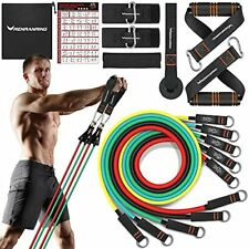 New listing Resistance Bands Set  Exercise Bands with Handles,Door Anchor Attac,Home Workout
