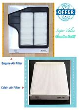 For NISSAN Engine & Cabin Air Filter 2013-18 Altima 2.5L 4Cyl 16546-3TA0A AF6297