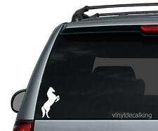 Standing Horse Decal, Vinyl Truck, Boat, Hunting Window Stickers
