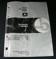 John Deere 230LC Excavator Technical Shop Service Repair Manual TM1666