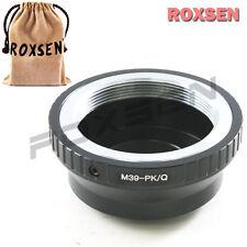 Roxsen Leica M39 39mm LTM Screw Mount Lens To Pentax Q P/Q Mount Adapter
