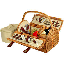 Picnic at Ascot Sussex Picnic Basket for 2  (709-SC)