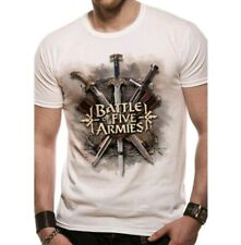 THE HOBBIT T-SHIRT BATTLE OF THE FIVE ARMIES EXTRA LARGE  T SHIRT