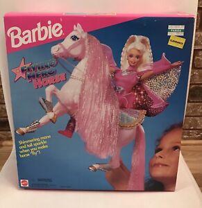 Barbie Flying Hero Horse 1995 Shimmering Mane & Tail New NRFB 14265