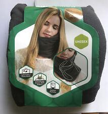 Trtl Travel Pillow - Super Soft Neck Support. Machine Washable. Gray- Brand New