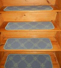 "14 = Step  9"" x 30'' + 1 Landing  28"" x 30'' Stair Treads  Woven Tufted Carpet"