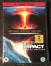 THE CORE-DEEP IMPACT DOUBLE DVD SET MINT CONDITION FREE POST