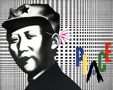 Art Poster Communist Popart Peace Trippy   Art Print