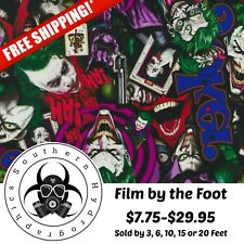 HYDROGRAPHIC WATER TRANSFER HYDRO DIPPING DIP THE JOKER COLOR FILM DIP