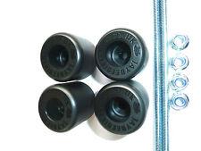 YAMAHA MT-01  FRONT & REAR AXLE CRASH MUSHROOMS SPINDLE BUNGS SLIDER BOBBINS S9I