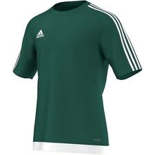 7d25a34f4 Adidas Chicos Estro Camiseta Mangas Cortas Camiseta De Entrenamiento Fútbol  Niños Top M L XL