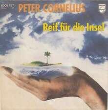 """Peter Cornelius Reif Für Die Insel 7"""" Single Vinyl Schallplatte 49400"""