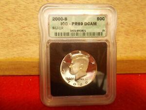 Kennedy Half Dollar 2000-S Silver PR-69DCAM