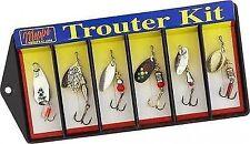 Mepps Trouter Lure Kit Plain Treble 6 Lures K1