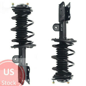 - One Year Warranty 2006 for Toyota Matrix Front Premium Quality Suspension Strut and Coil Spring Assemblies for Both Left and Right QBA