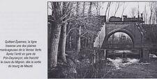 2006  --  PASSAGE D UN TRAIN VAPEUR SUR LE MIGNON APRES PRIN DEYRANCON   3E215