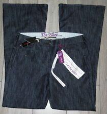 NEW Womens🦋NEXT🦋indigo stretch kick flare denim jeans size 14L