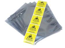 5 Pcs Esd Anti Static Bags 6 X 8 6 X 7 58 3 Mil Flat Open Top Labels