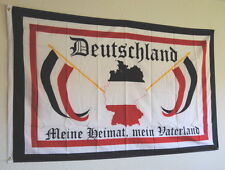 FLAGGE REICHSFLAGGE DR 1697 DEUTSCHES REICH MEINE HEIMAT MEIN VATERLAND FAHNE