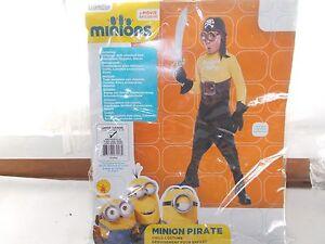 Rubies Illumination Minion Pirate Child Halloween Costume Large 12 - 14