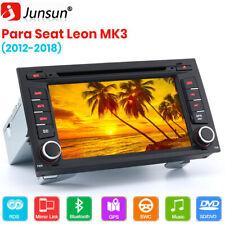 "7"" Autoradio de Coche Radio estéreo DVD GPS RDS DAB Para Seat Leon MK3 Bluetooth"