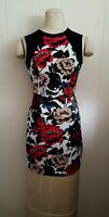 NWT WOMEN Adrianna Papell Floral Print Cocktail Dress size 4P