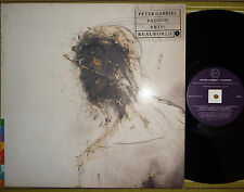 PETER GABRIEL, PASSION, 2xLP 1989 ORIGINAL UK EX/EX/EX 2 INNER/SL - WHITE LABLES