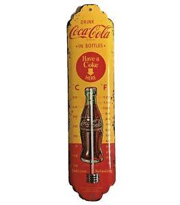 Blech Thermometer Coca - Cola Nostalgic-Art Retro Vintage schneller Versand NEU