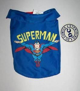 DC Comics Superman dog coat Choose Small Med Large Halloween costume