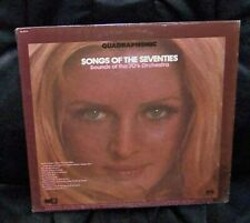 Songs Of The Seventies  Quadraphonic LP   Orchestra