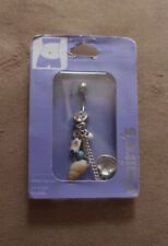Belly Bar New with Tags  RRP £12 Body Jewellery Piercing 14G 1.63mm