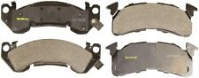 Disc Brake Pad-Total Solution Semi-Metallic Brake Pads Front Monroe DX153