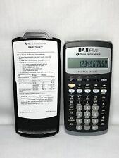 Texas Instruments BA II 2 Plus Professional Financial Calculator Works