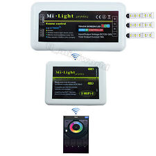 WiFi+1x RGB led Controller - 2.4G RF Android IOS Mobile Mi.Light 4-Zone Dimmable