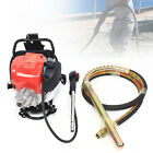 4-Stroke Concrete Backpack Vibrator 38.7CC Power Gasoline Engine Screed Cement