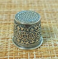 THIMBLE sterling silver 925 Russia # 930505