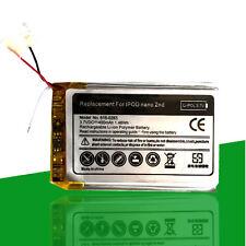 Battery 400 Mah for Ipod Nano 2g 2nd Generation A1199 Apn 616-0283 616-0270