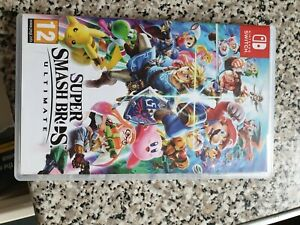 Super smash bros ultimate Nintendo switch.game