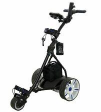 Pro Rider Digital Electric Golf Trolley Black & Blue RB1926